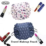 Faule Make-up Tasche Kordelzug Tragbare Quick Pack Reise-Make-up-Etui Fall Multifunktionale