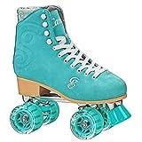 RD Roller Derby Retro Classic Figure quad Skates Rollschuhe Candi Carlin (Sea Form, US 8 / EU 40)