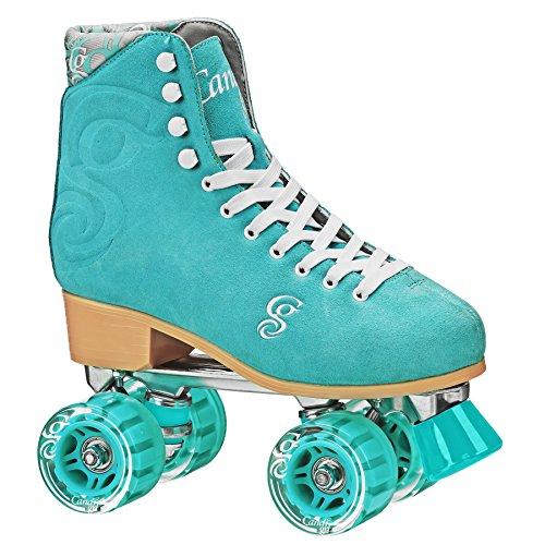 RD Roller Derby Retro Classic Figure quad Skates Rollschuhe Candi Carlin (Sea Form, US 9 / EU 41,5) -