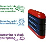 """Primary Teaching Services """"Presentation Capital Letters Spelling"""" 3-in-1 Stack and Stamp"""