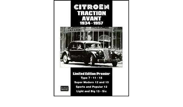 Citroen Traction Avant History Buying Advice Book