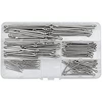 WMYCONGCONG 125 PCS 304 Stainless Steel Cotter Pin Assortment for Automotive