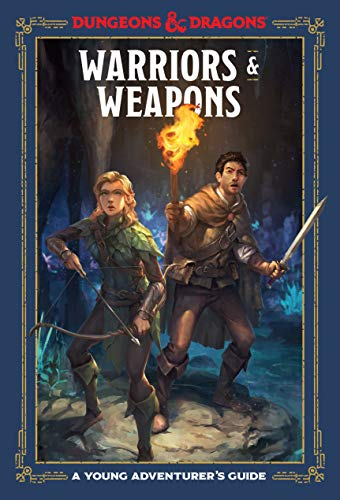 Warriors & Weapons: A Young Adventurer's Guide (Dungeons & Dragons Young Adventurer's Guides) (English Edition) Mini Mens Tie