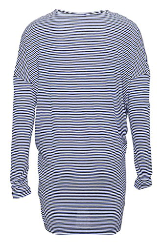 Costume National C'N'C Damen Shirt Langarmshirt Stripe Gestreift