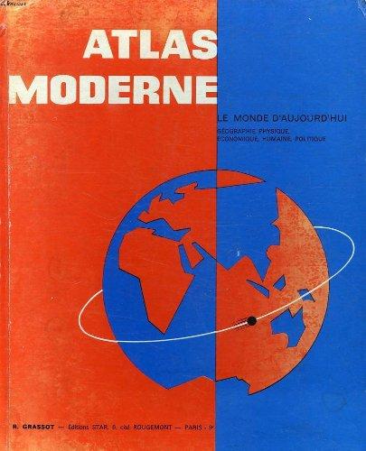 NOTRE MONDE - ATLAS MODERNE par GRASSOT R.