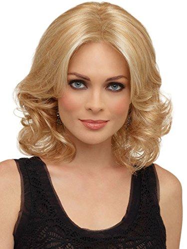 ATAYOU® Kurze Blond Lockige Synthetische Bob Perücken für Frauen 14 Zoll (Kurze Lockige Perücke Blonde)