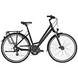 Bergamont Horizon 3.0 Amsterdam Damen Trekking Fahrrad schwarz/rot 2017: Größe: 52cm (171-176cm)