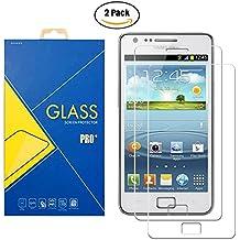 [2 Pack] Protector Cristal Vidrio Templado Samsung Galaxy S2 GT-i9100 / i9100p / S II 4G – Pantalla Antigolpes y Resistente al Rayado