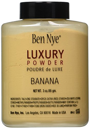 Ben Nye Banana Luxury Face Powder 3.0 oz Makeup Kim