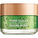 L'Oréal Paris Skin Care Pure Sugar Face Scrub with Real Kiwiseeds, To Unclog Pores, Pore Minimizer, 1.7 fl. oz.
