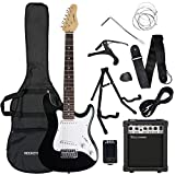 Rocket 3/4 Size Beginner Electric Guitar Premium Pack with Amp