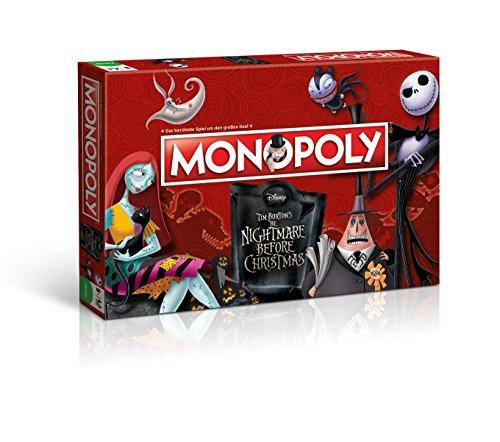 Monopoly Nightmare Before Christmas - Das berühmte Spiel um den großen Deal!