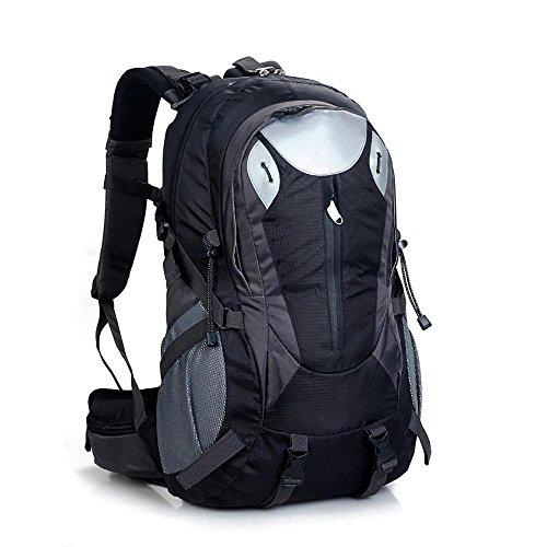 L&Z 40L Wandern Rucksack, Multifunktions Wasser-resistent Casual Camping Trekking Rucksack für...