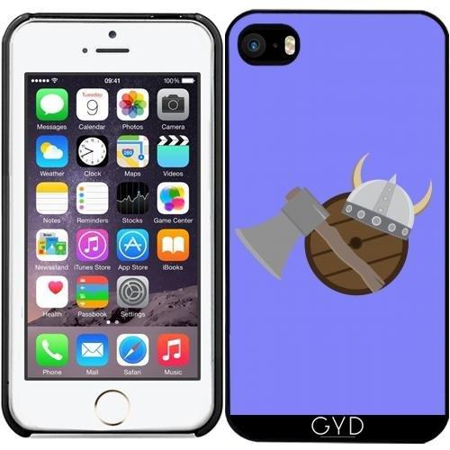 DesignedByIndependentArtists Hülle für iPhone SE - Wikinger Waffen by Ilovecotton