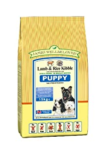 James Wellbeloved Puppy Lamb and Rice Kibble 15 kg by Crown Pet Foods