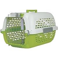 Dogit Caisse de Transport Pet Voyager Vert/Blanc 48 x 32 x 28 cm Taille 1