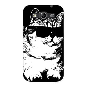 Delighted Thug Cat Back Case Cover for Galaxy Grand Quattro