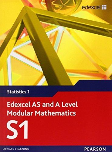 Edexcel AS and A Level Modular Mathematics - Statistics 1 by Keith Pledger et al, Alan Clegg (July 25, 2008) Paperback