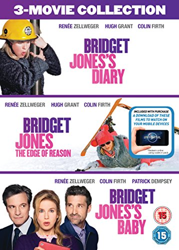 Bild von Bridget Jones 3-Film Collection (Bridget Jones's Diary/Bridget Jones: The Edge Of Reason/Bridget Jones's Baby) [DVD + Digital Download] [2016] UK-Import, Sprache-Englisch