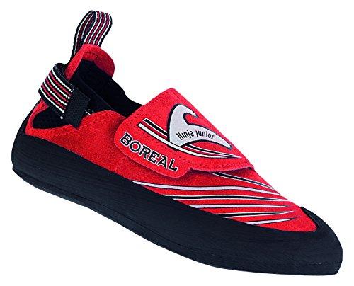 Boreal Ninja Junior, Scarpe da Camminata ed Escursionismo Ragazzo Verde 27-28, Rosso (Rot), 36 EU