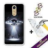 Coque Gel pour Cubot Note Plus, [ +1 Protecteur d'écran Verre Trempé ] Coque Etui Housse Silicone TPU 3B, protège et s'adapte a la perfection a ton Smartphone - OVNI.