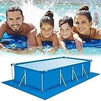 Pool grondzeil Plein Floor Zwembad Mat Zwembad Floor Protector Gemakkelijk te Clean Mat voor zwembaden, Inflatables, kinderbaden, 3 Maat,330 * 230CM