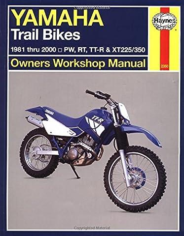 Yamaha Trail Bikes Owners Workshop Manual: 1981-2000 (Haynes owners workshop