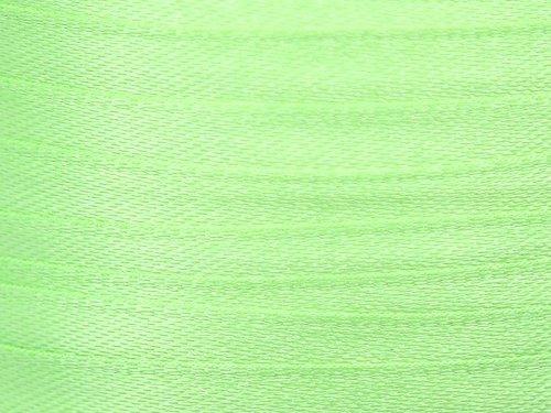 Import 22 M de Ruban en Satin Vert Clair 10mm