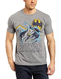 Junk Food Men's Batman Short-Sleeve Crewneck T-Shirt