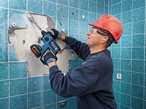 Bosch Professional Akku Bohrhammer GBH 18 V-EC (ohne Akku, 18 V, max. Schlagenergie: 1,7 J, in L-BOXX)
