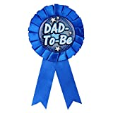 #7: Babyshower Baby Shower Party Props Badge Dad To Be