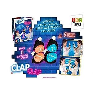 IMC Toys Juego Clap Clap !Juega A Las Palmas AL Ritmo DE Las Luces!