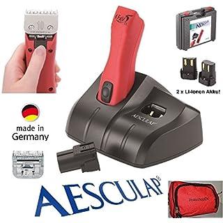 Rotschopf24 Edition: AESCULAP POWER Akku Schermaschine GT 306 (FAV 5 CL) incl. 1,5mm Scherkopf + 3mm Feinscherkopf (GT345). 43986