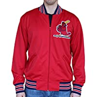 St. Louis Cardinals Mitchell & Ness MLB Authentic Full Zip 1986 BP Jacket