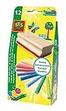 SES creative 00205 - Kreideset mit Tafelwischer
