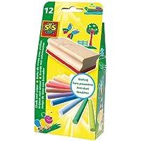 SES creative 00205 - Set gessetti con cancellino