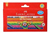 #4: Faber-Castell Wax Crayon Set - 75mm, Pack of 24 (Assorted)