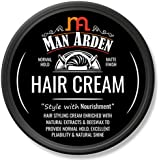 Man Arden Hair Cream - Style with Nourishment - 50g - Daily Use Hair Styling Cream