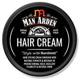 Best Mens Hair Creams - Man Arden Hair Cream - Styling with Normal Review