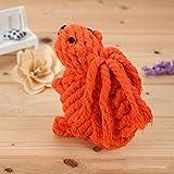 Rifornimenti del cane del gatto della corda del cotone di dentizione molare del cane del lavoro a maglia del giocattolo dell'animale domestico
