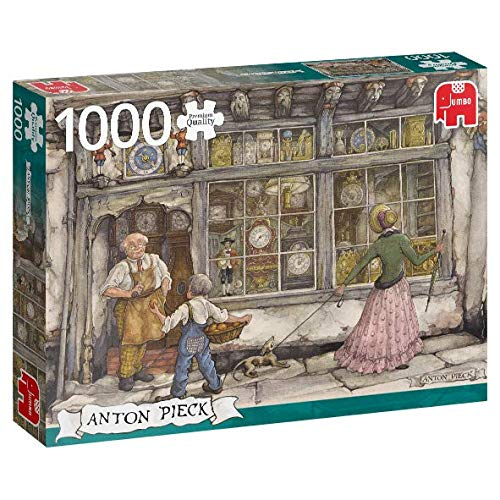 Premium Collection 18826 - Anton Pieck-The Clock Shop, 1000 Teile Puzzle