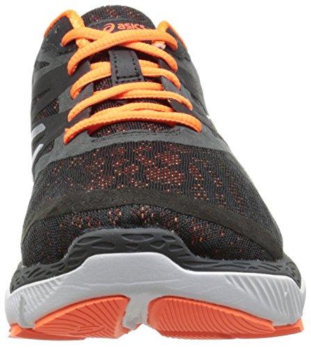 Asics 33-M Synthétique Chaussure de Course Onyx-Silver-Flask Orange