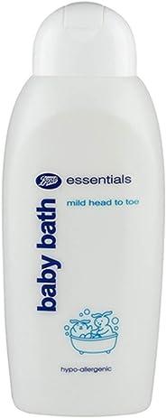 Boots Essentials Mild Head To Toe Baby Bath, 400 ml