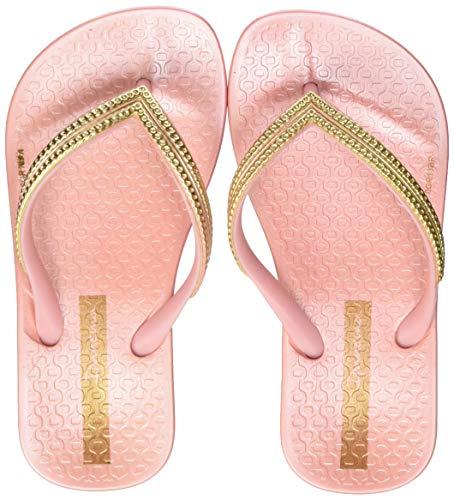 Ipanema Mesh Kids, Chanclas para Niñas, Pink/Gold 9184, 25/26 EU