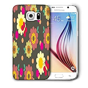 Snoogg Multicolor Pattern Printed Protective Phone Back Case Cover For Samsung Galaxy S6 / S IIIIII