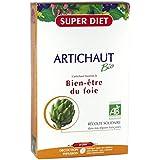 SuperDiet Artichaut Bien être du foie 20 ampoules de 15ml soit 300ml