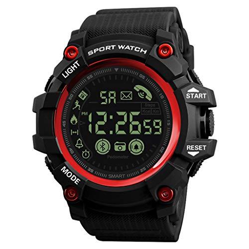 Lookhy Smart Watch Bluetooth Smart Multifunktions Wasserdicht Smart Sports Fitness Herren Handgelenk Uhren Herren Damen Unisex Edelstahl Armband Modisch Elegante Sportuhr