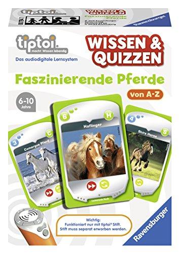 Preisvergleich Produktbild Ravensburger 00754 - tiptoi Spiel Wissen & Quizzen: Faszinierende Pferde