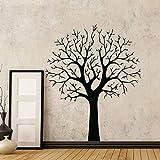 ganlanshu Etiqueta de la Pared del árbol Moderno para la decoración de la Sala Mural de Vinilo extraíble Dormitorio decoración del hogar Papel 58cmx70cm
