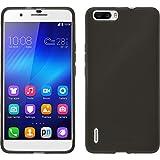 PhoneNatic Coque en silicone avec film de protection pour Huawei Honor 6Transparent